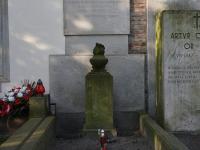 Grób Zdzisława Zycha-Płodowskiego naCmentarzu Powązkowskim, źródło Wikipedia