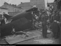 Rozbity samolot Z. Zycha-Płodowskiego, źródło NAC