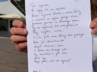 """Akcja """"Podaruj wiersz"""" wKsiążnicy Płockiej / fot.: Archiwum KP"""