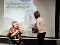 """Aktywny iświadomy senior... - """"Psychologiczne aspekty zachowań przestępców"""" / fot.: Archiwum KP"""