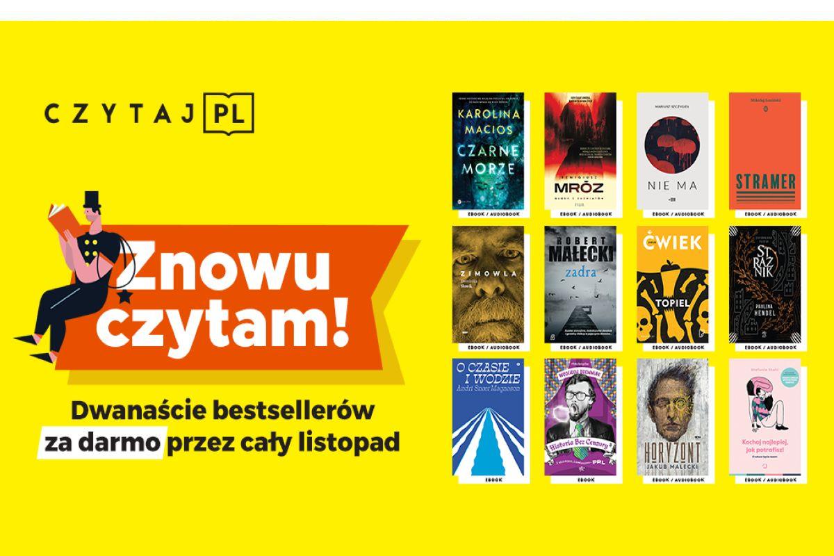 Czytaj i słuchaj – 12 bestsellerów!