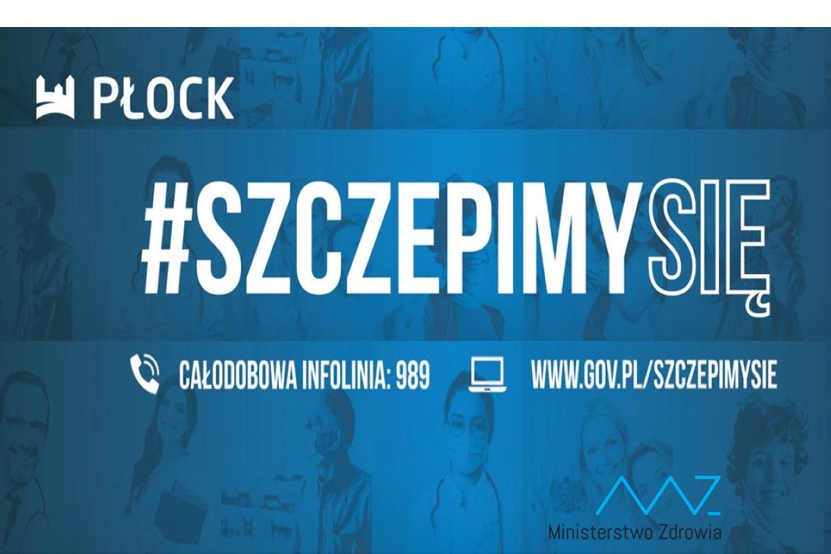 Punkty  szczepień w Płocku